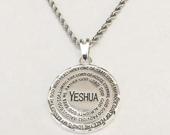 hebrew necklace