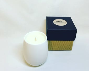 350mL Soy Crisp White Candle, Hand Poured