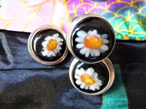 Daisy Set Ring and Earring, Daisy, Daisy Gifts, Gi