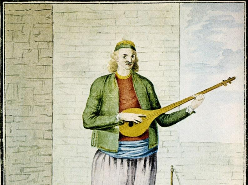 Podaraki - Bulgari staff, tab + mp3  Greek traditional song  Ποδαράκι -  Μπουλγαρί (ταμπουράς Κρήτης) παρτιτούρα, ταμπλατούρα + mp3