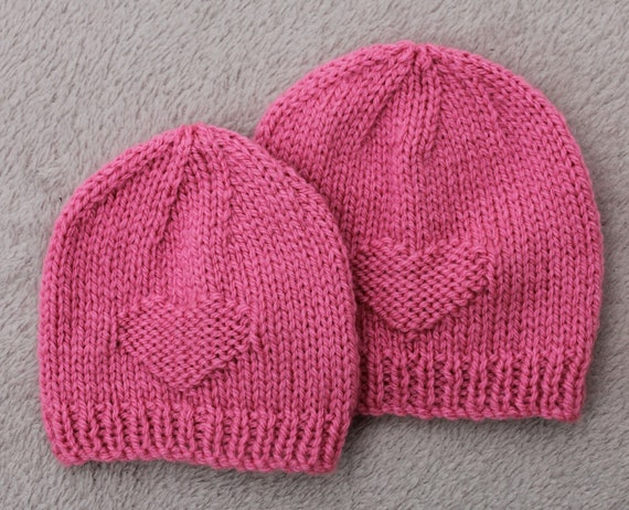 Instant Download Baby Hat Pattern Preemie Hat Pattern Knitting Etsy