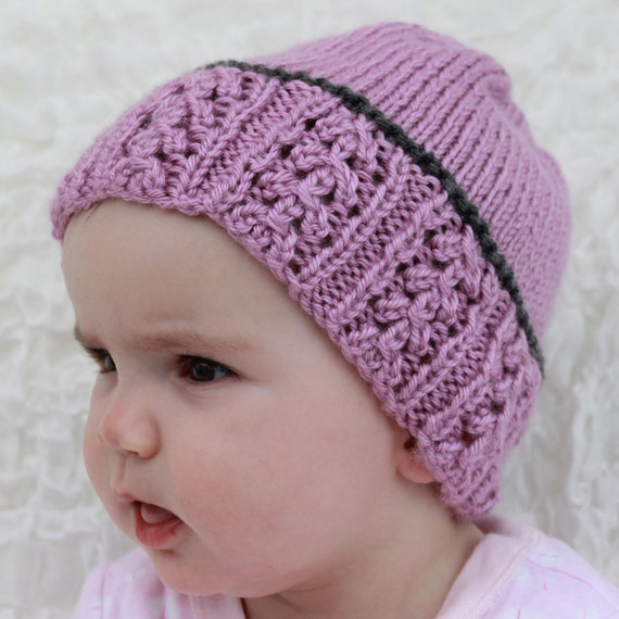 Instant Download Knitted Ladies Hat Girls Hat Childs Beanie Etsy