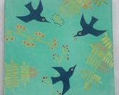 Acrylic painting, birds a...