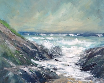 Seascape - Between the Rocks
