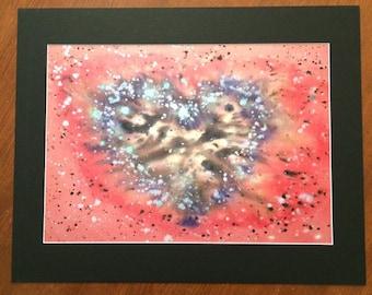 Mystic Love Art Print - Love Heart Wall Art