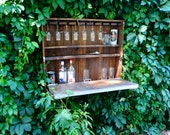 "Outdoor wine bar,wine cabinet ,pallet furniture,bar cabinet,house bar,home bar furniture,wine storage racks,wall wine rack""Men's Club""."
