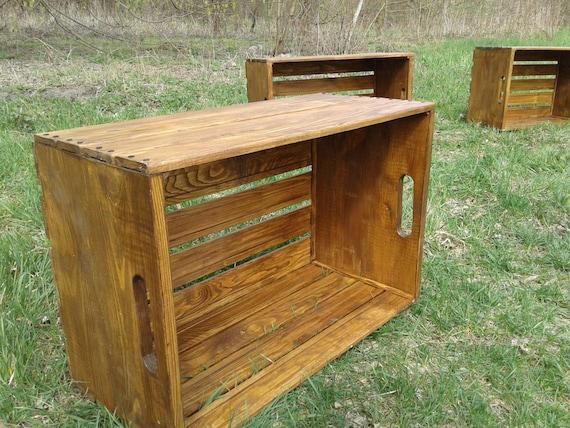 Mobili In Legno Riciclato Vendita : Scatola di legno mobili in legno riciclato mobili pallet etsy