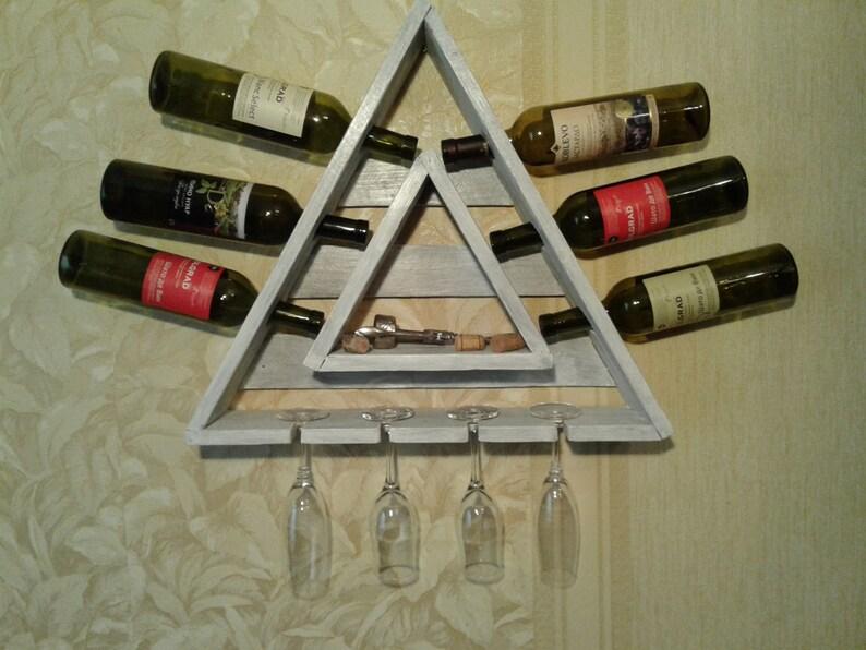 Scaffale porta bottiglie di vino in legno per bottiglie rw