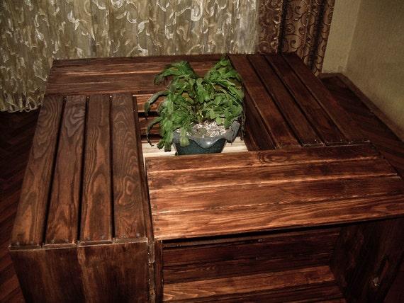Houten Pallet Meubelen : Sale coffee houten tafel buiten tafel pallet meubels etsy
