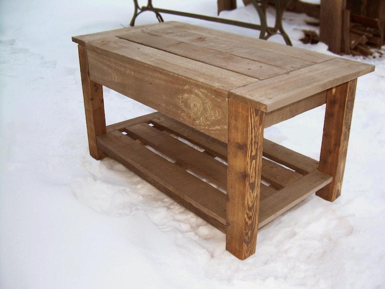 Kleine tafel pallet tafel goedkoop salontafels houten etsy
