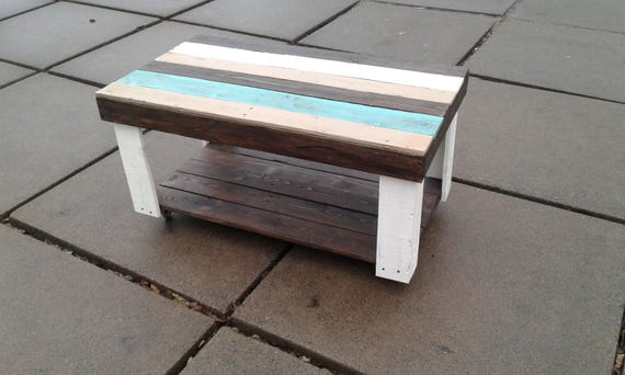 Color Pallet Coffee Table Reclaimed Wood Coffee Table Handmade Pallet Firniture Brown White Tiffany Coffee Table Diy Table Mint Leaves