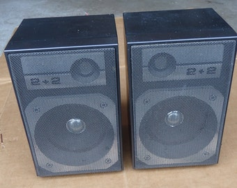 General Electric Speakers Vintage Bookshelf Radio Boombox Replacementcame From No 35672A