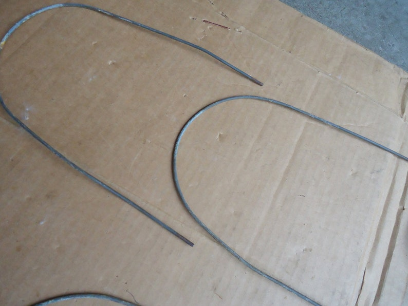 vintage Croquet wickets wires hoops replacement,lawn game outdoor sport.antique hoops