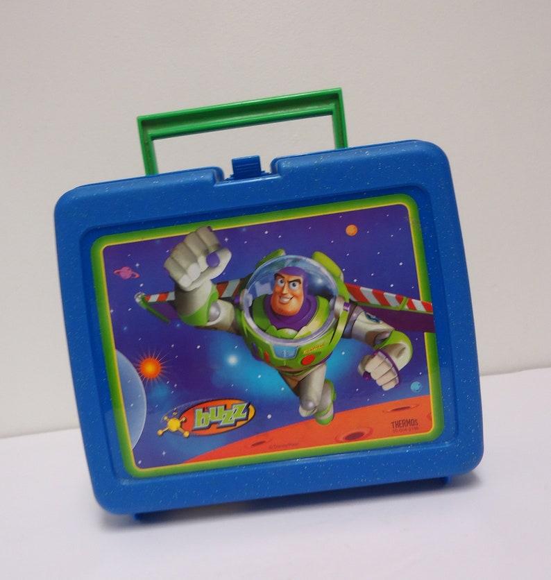 df624fa41e2 Toy story lunch box vintage buzz lightyear plastic