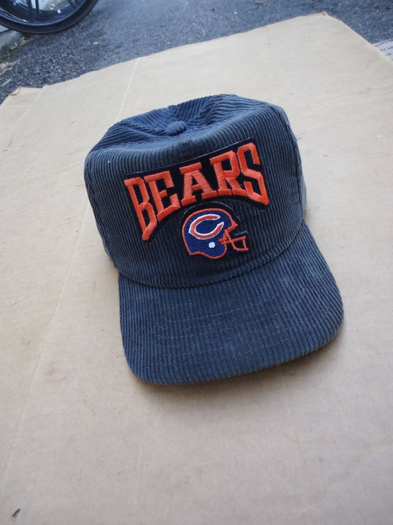 ... promo code for chicago bears vintage hats snapback corduroy capone size  etsy b3e5c 3ecb3 823c0f6e7