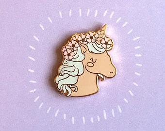 Unicorn Enamel Pin   cute unicorn pin badge