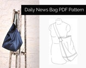 The Sewing Workshop PDF Sewing Pattern - Daily News Bag. Sewing patterns for bags. Download.