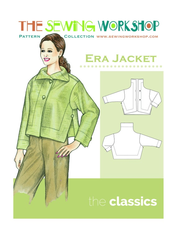 Era Jacket Womens Sewing Pdf Pattern Sizes Etsy