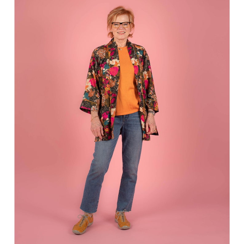 Ikina Two Jacket l m The Sewing Workshop PDF sewing pattern s xxl Sewing Patterns for Women Download Sizes xs xl