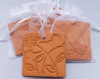 Ceramic Oil Diffuser, Handmade, Bird design