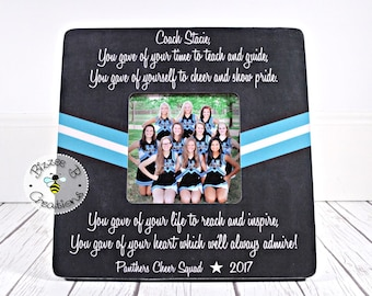 on sale cheer coach gift dance coach gift dance team gift cheer coach cheerleading gifts cheer leader coach picture frame you gave