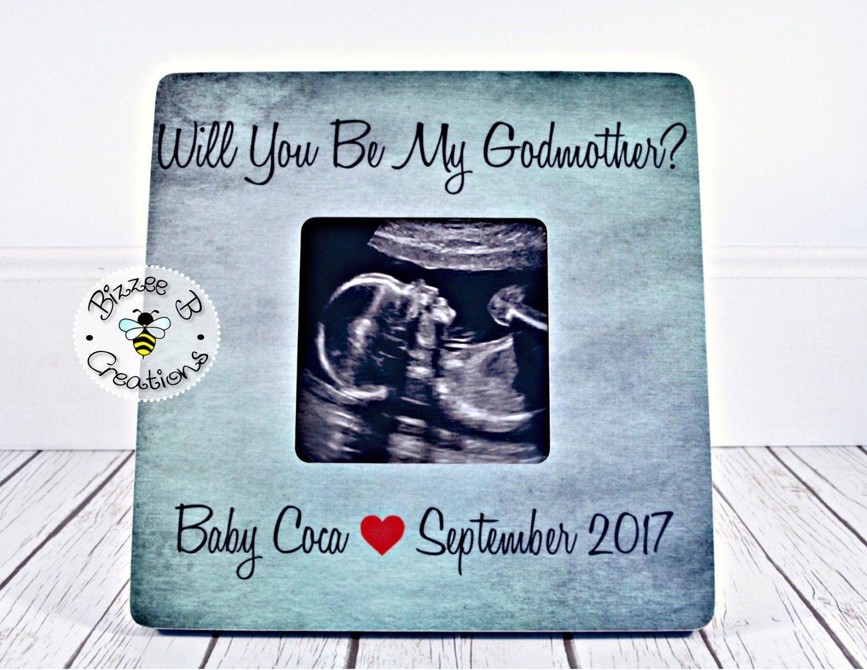 ON SALE Gift for Godmother Godparent Gift Baby Baptism | Etsy