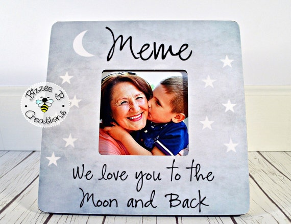 Custom Picture Frame For Meme Mimi Gift for Grandma We Love | Etsy