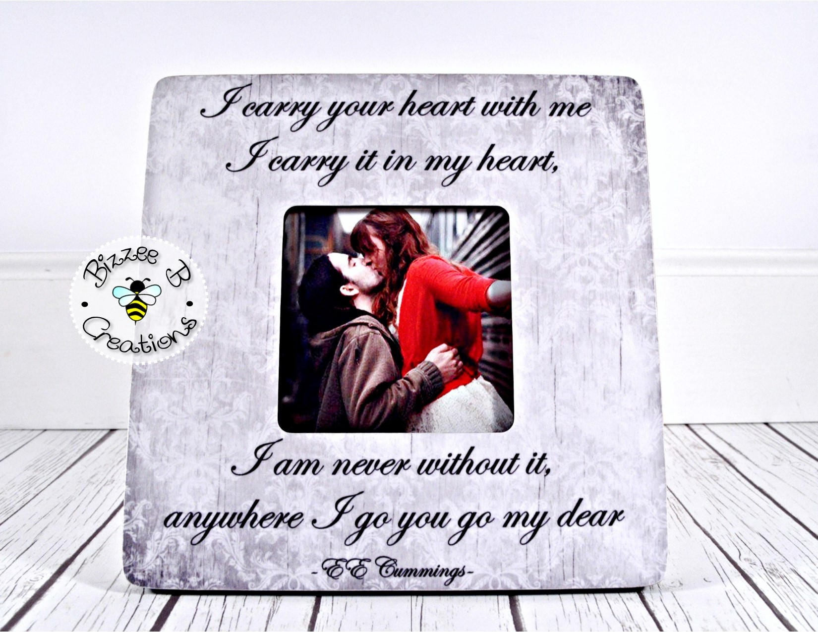 ON SALE Picture Frame Gift for Significant Other