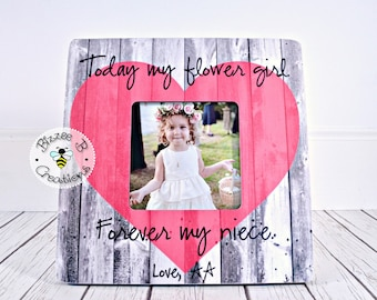 ON SALE Today My Flower Girl Forever My Niece, Wedding Thank You, Gift for Niece, Aunt and Niece gift, Flower Girl Gift, Flower Girl Niece
