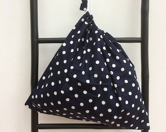 SALE - Cotton Drawstring Bag - 'A Bag For All Reasons'