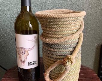 Rope Vase/Wine