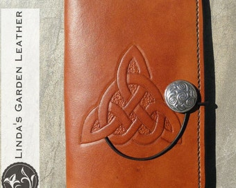 """Handmade Leather Kindle Fire HD 6"""" Cover"""