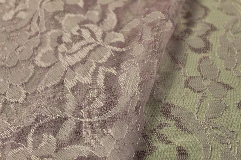 LT Pink floral Lace Print