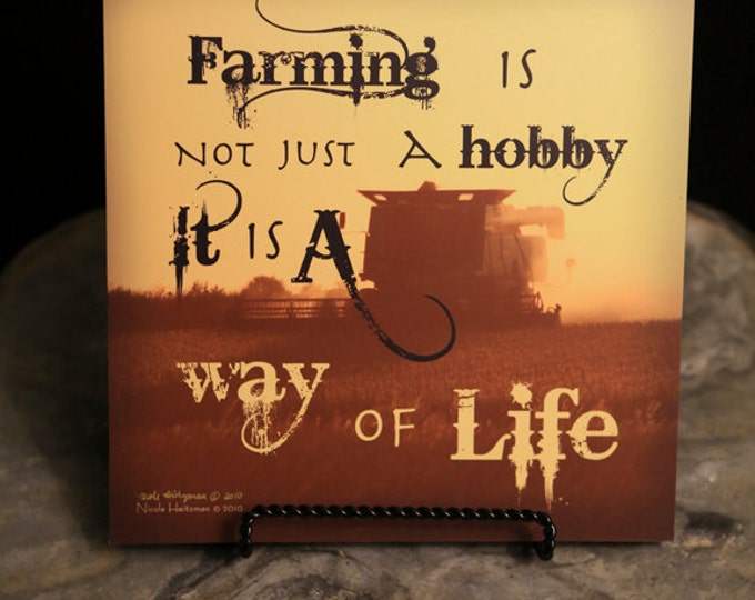 Sunset Photo Sunset Photography Sunset print Sunset quote farm saying Combine Art Combine silhouette Photo Farming photo by Nicole Heitzman