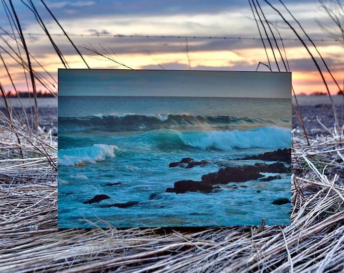 Hawaii Shipwreck Beach Kauai Beach Photography Pacific Ocean Scenery Beach Decor Teal decor Ocean Waves Photo Sand Photo by Nicole Heitzman