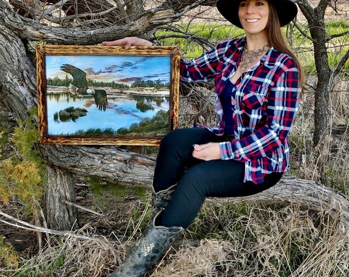 """Boundless Territory"" 24""x16"" Canvas Giclee Print by Nicole Heitzman"