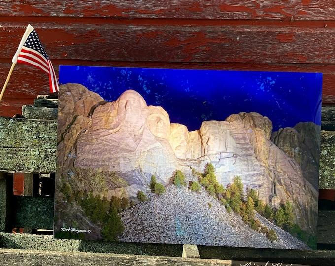 Mount Rushmore National Memorial Monument USA Presidents Black Hills South Dakota photography by Nicole Heitzman