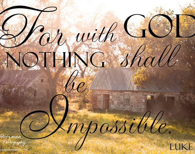 Fall Photo Godly quote Fall Photography Old buildings of South Dakota Nature quote Scripture Nature print Autumn Photo by Nicole Heitzman
