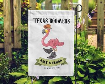 TEXAS BOOMER CUSTOM Double Sided Soft Microfiber Garden Flag