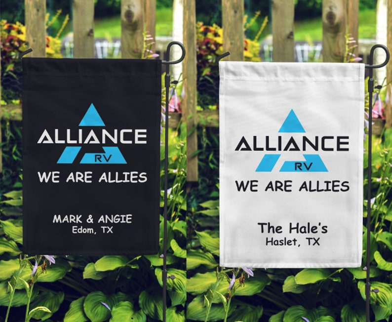 Alliance WE ARE ALLIES Custom Double Sided Soft Microfiber image 1
