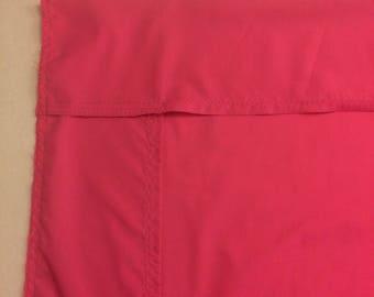 Pink pack n play sheet