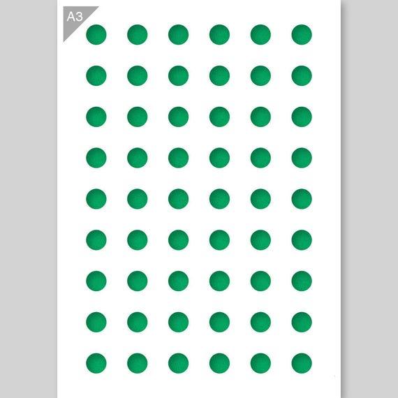 Sechseck-Muster Schablone Karte oder Kunststoff A3 42 x | Etsy