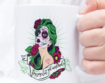 Stay Sexy Don't Get Murdered Mug - My Favorite Murder Mug - Murderino Gift - Karen and Georgia Gift - SSDGM Mug - Podcast Mug - MFM Mug