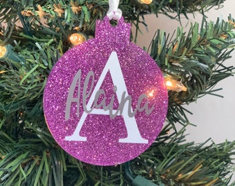 Personalized Christmas Ornament - Name Ornament - Year Ornament