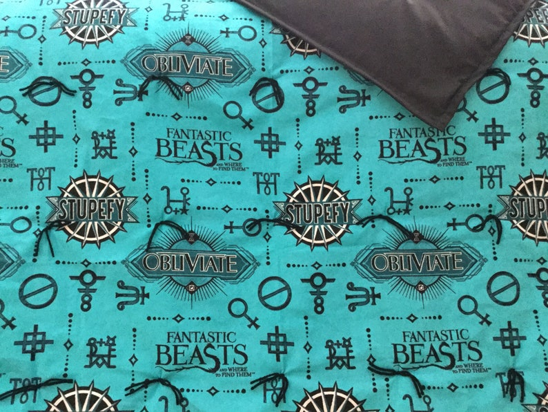 flannel blanket Harry Potter Fantastic Beast