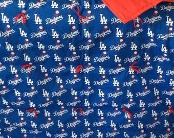 LA Dodgers blanket