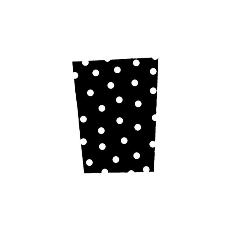 EZ Mounted Rubber Stamp Retro Background with Dots Altered Art image 0