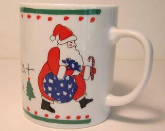 Dear Santa, Here's a yummy treat for you. XXX  (MUG)   (#671)