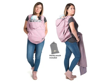 Housse de porteur de bébé, couverture de portage, housse Softshell pour les  transporteurs, la poussière rose Saint Valentin 372440b5d37