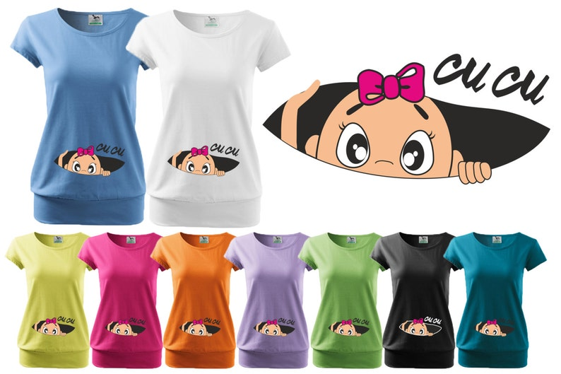 f71f13387d446 Valentines day gift Cu-cu cu cu Maternity clothes | Etsy